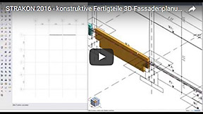 Video Constructive Precast Elements 3D Facade