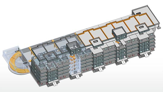 BIM planning in building construction
